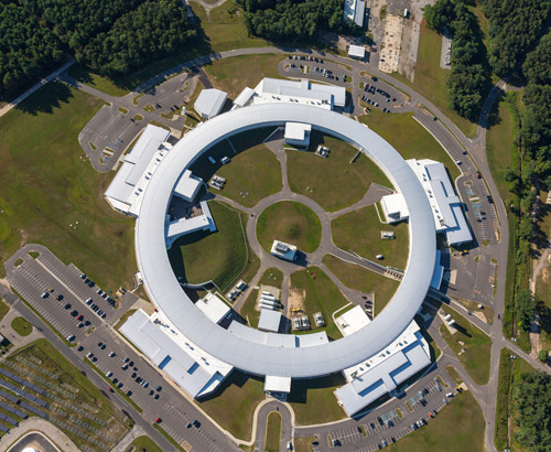 National Synchrotron Light Source II aerial view
