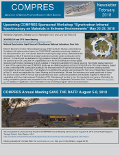 COMPRES newsletter January 2018
