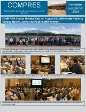 COMPRES newsletter September 2018